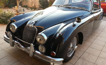 Jaguar XK150 coupé